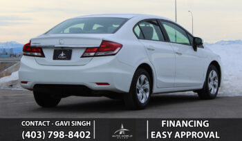 2015 Honda Civic Sedan LX | Camera| Heated Seats | Bluetooth full